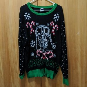 Men's Ugly Christmas Sweater Star Wars Darth Vader